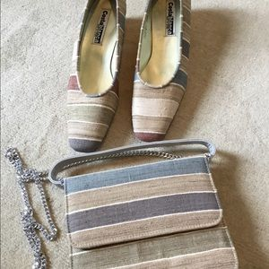 Vintage Costa Blanca Shoes and Purse